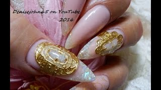 GREEK GODDESS-----Jewelry Nails * ---T U T O R I A L - TUTORIAL