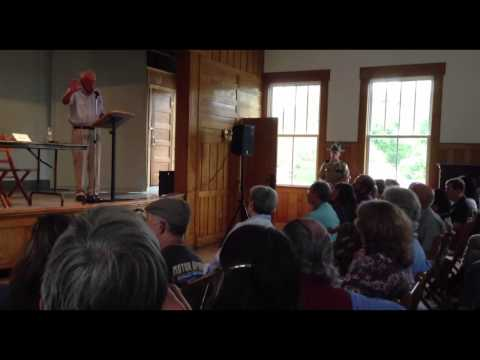 Bernie Sanders at Town Hall in Vermont; conflict between Israel and