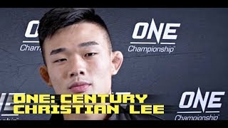 ONE Century Pre-Fight Interview: Christian Lee