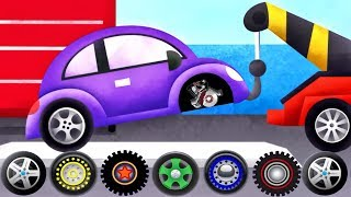 Cars & Trucks - Tow Trucks For Kids | Emergency Vehicles Trucks - by Duck Moose| Videos for Children
