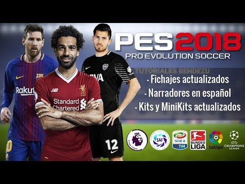 PES 2018 PPSSPP - YouTube