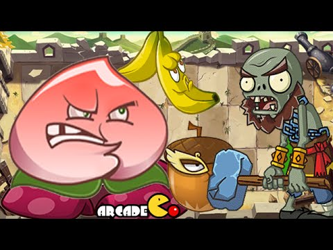 Plants Vs Zombies All Stars: Kung Fu World Day 15-19  (China Version) klip izle