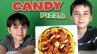 Candy Pizza - Gummy Pizza
