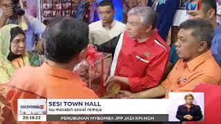 SESI TOWN  HALL – ISU MASALAH SOSIAL REMAJA [1 OKT 2017]