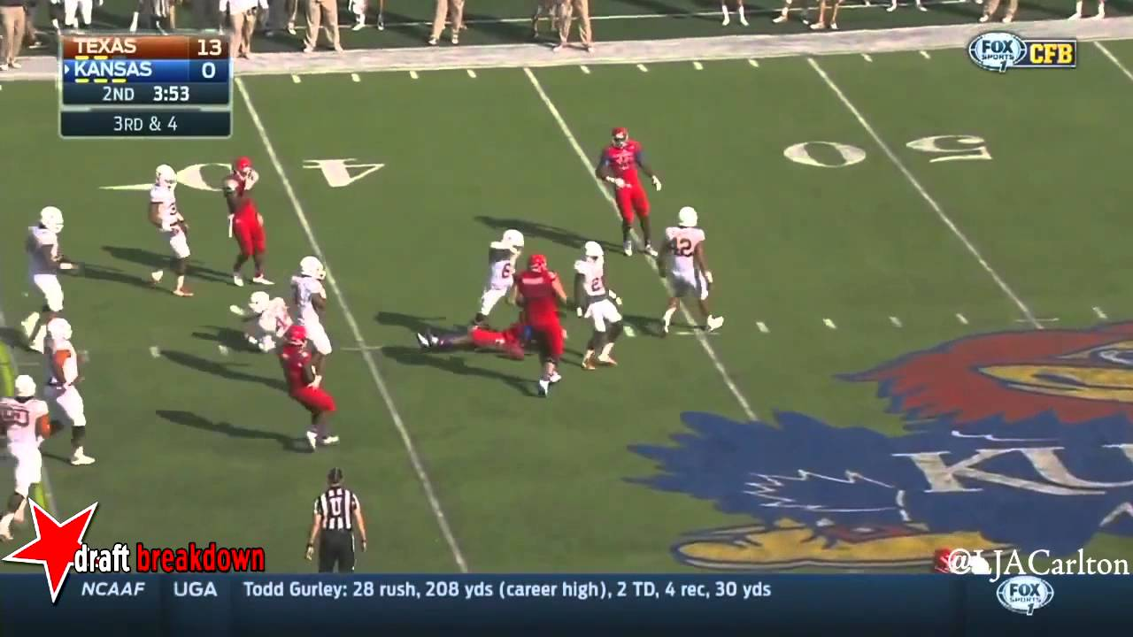 Jordan Hicks vs Kansas (2014)