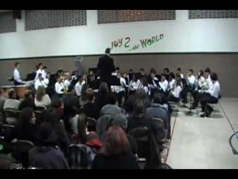 JOY TO THE WORLD-S.D.A. NORTH SHORE ACADEMY CONCERT BAND-GERDECO 0113
