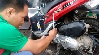 Em thợ sửa xe máy bắt bệnh cực nhanh |  Vĩnh Phúc Today
