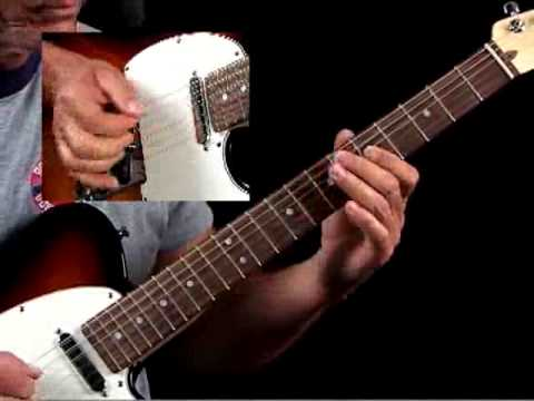 How to Play Guitar Like Danny Gatton - Example 3b - Guitar Lessons