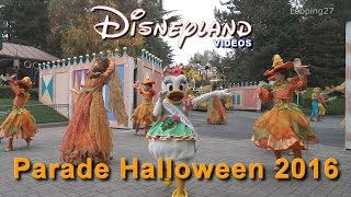 Parade Halloween 2016 - Disneyland Paris HD