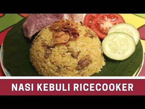 Cara Membuat Nasi Kebuli Ricecooker