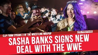Sasha Banks Signs New Deal With The WWE