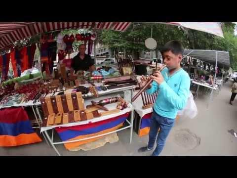Дудук (Duduk) Yerevan, Armenia