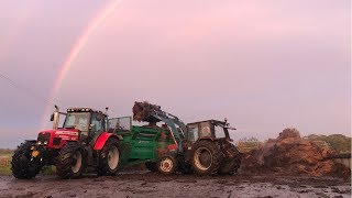 2 IS ALWAYS BETTER THAN 1! MUCK SPREADING