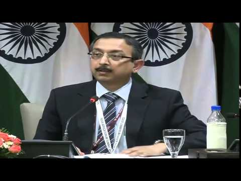 Media Briefing on 3rd India-Africa Forum Summit - Day 3 (October 28, 2015)