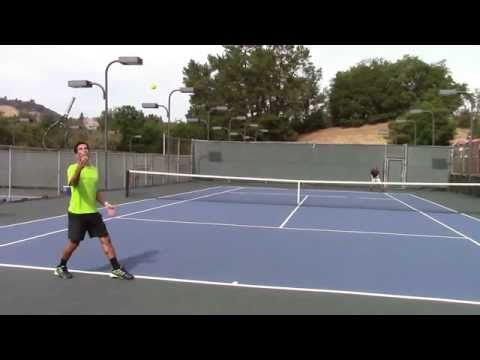 AMAZING Tennis Trick Shot Serves Trick Shot Tennis