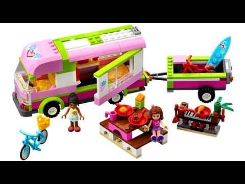 LEGO 3184 Adventure Camper LEGO Friends Review