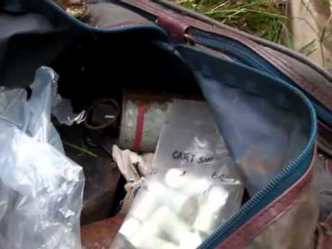 Police recover bag with ammunition