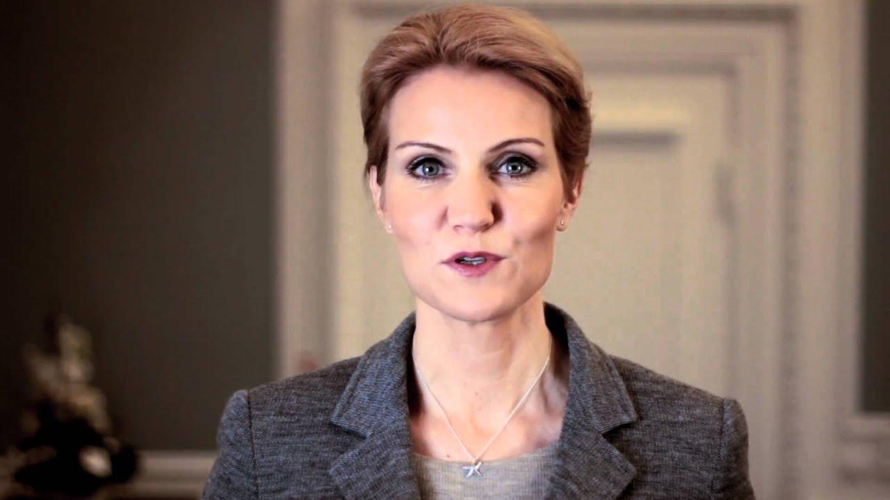 Danish prime minister helle thorning schmidt