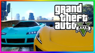 GTA 5 Online - How to Cheat! (GTA 5 Funny Moments and Custom Races!)