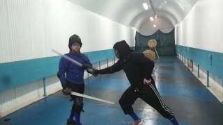 Demonstration of Fencing with the Scottish Broadsword