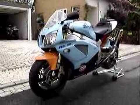 Honda VTR 1000 SP2 HRC RC51 RVT Sound Akrapovic Gulf Le Mans GP www.vrc-racing.com