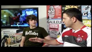 GalileuLab desafia o campeão mundial de Guitar Hero