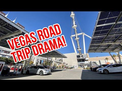 Tesla Model 3 Road Trip: Range Anxiety? Broken Supercharger? Near Accident? Crime Scene?