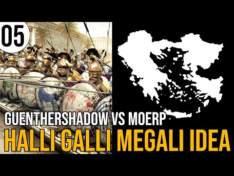Total War: Rome 2   Massalia in Halli Galli Megali Idea   05   GuentherShadow vs Moerp   Sehr Schwer