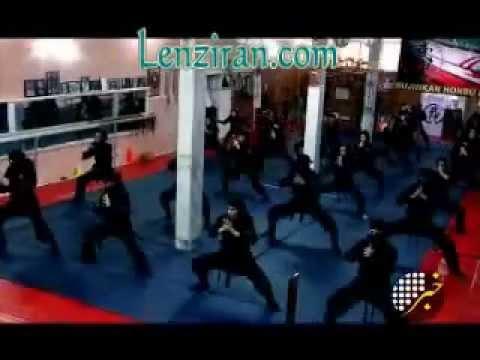 Iranian Television Talk With Female Members Of A  Ninja  Sport Club In Tehran