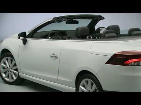 Renault Megane coupé-cabriolet con tetto in vetro