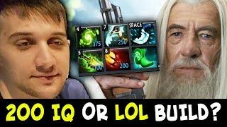 Arteezy 200 IQ or LOL COUNTER PICK vs mid Shadow Demon?