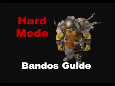 Hard Mode Bandos Runescape 2013 - First Day Strategies Guide