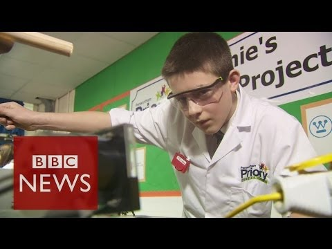 13 year old builds a nuclear reactor - BBC News