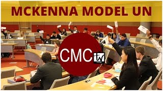 CMCtv: McKenna Model United Nations Conference
