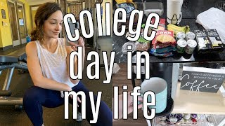 college day in my life: back to school + getting my life together