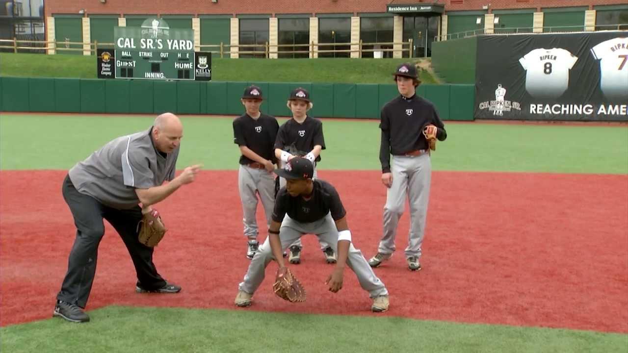 Baseball Fielding Drills for Quick Hands and Feet