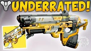 Destiny: DON'T UNDERESTIMATE THIS GUN! Destroying w/ Exotic Vision of Confluence