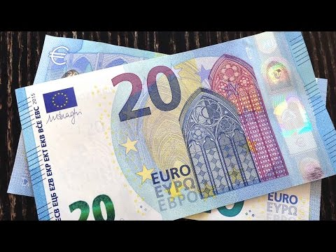 The new 20 Euro banknote