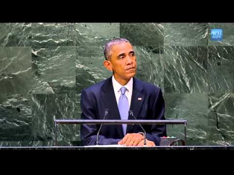 Obama to U.N. | Israeli & Palestinian 2-state Solution