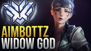 THIS IS WHY HE'S CALLED AIMBOTTZ -  WIDOWMAKER GOD - Overwatch Montage
