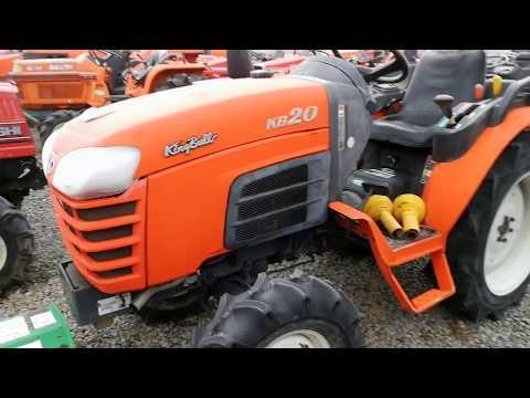 Traktor Kubota King Bull KB20