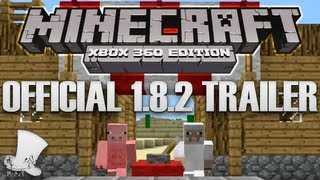 Official Minecraft 1.8.2 Xbox Trailer