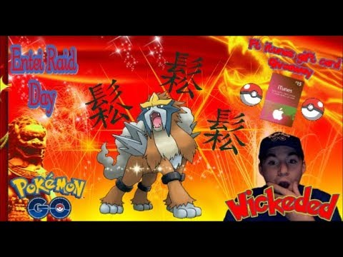 WORLDS FIRST 15 ENTEI CAUGHT IN A ROW + 2 SHINIES IN POKEMON GO!