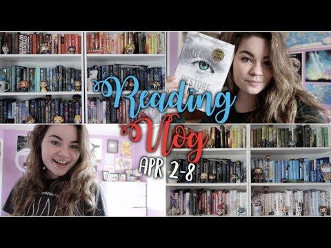 READING RESTORE ME   Reading Vlog: April 2-8