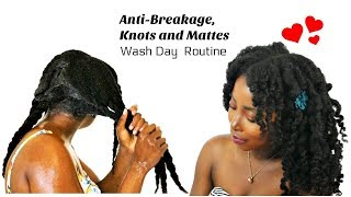 Wash Day Routine For Anti Breakage Hair Growth | 10 Tips  | Wash ➡️ Style | Natural Hair