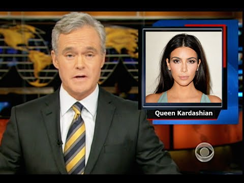 BREAKING! CBS News: Kim Kardashian's Baby Likes to Play with Shoes - An ACTUAL CBS Story!  WTF?