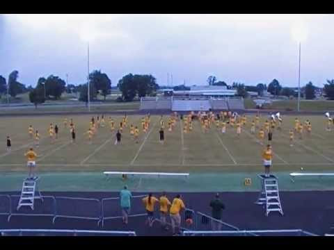 Greenwood High School marching band, Bowling Green, KY, Parent performance, 8-16-13