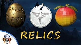 Uncharted 4 Relics - Strange Pendant, Strange Relic & Strange Fruit (Relic Finder Trophy)