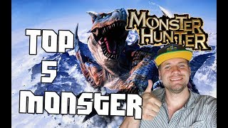 Unsere Top 5 Biester aus Monster Hunter