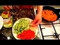 Салат фунчоза по-корейски с овощами рецепт
